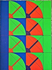 Arnaldo Pomodoro, 'Untitled Mid-Century Modern Geometric Abstraction ', 1968