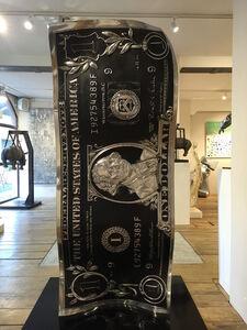 Karl Lagasse, 'One Dollar Black Aluminium XL', 2019