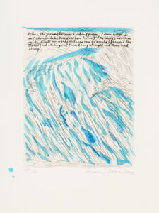 Raymond Pettibon, 'No title (When the ground...)', 2002