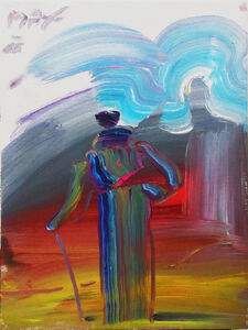 Peter Max, 'SAGE WITH CANE', 1988