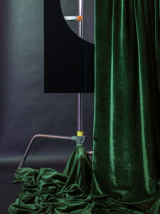 Christie Neptune, 'Assembled Construction with Curtain in Spotlight', 2018