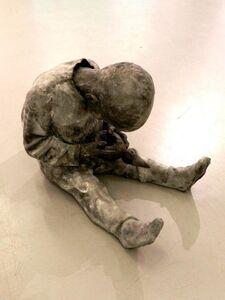 Jose Cobo, 'Niño con muñeco', 2014