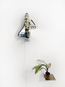 Simon Vega, 'Tropical enterprise mini shuttle coaster', 2020