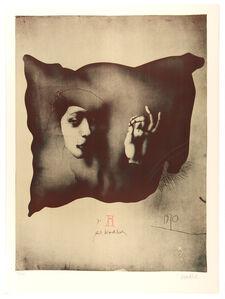 Paul Wunderlich, 'Entwurf für ein Nürnberger Kissen', 1970