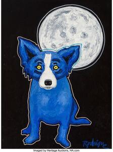 George Rodrigue, 'Tiffany Moon', 1992