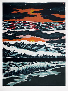 Richard Bosman, 'Tropical Sunset', 1987