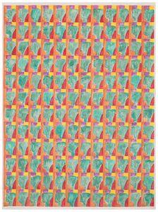 Marijn Van Kreij, 'Untitled (Paul Klee, Schlucht in den Alpen, 1938)', 2015