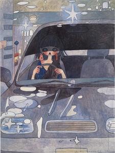 Aya Takano, 'Drive with a Night Dog', 2006