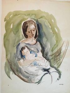 Katherine Librowicz, 'Mother with Child', 20th Century