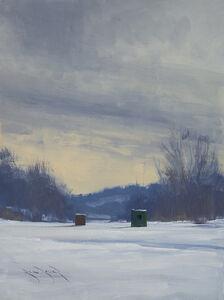 Ben Bauer, 'Empty Ice Houses', 2020