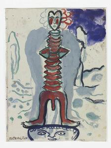 René Daniëls, 'MeTRonoLiTan', 1983