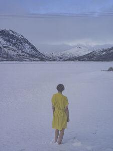 Elina Brotherus, 'Yellow in Snow', 2019