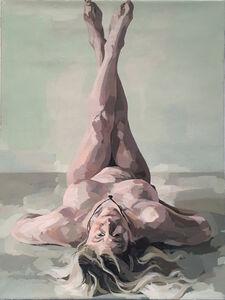 Ingrid Capozzoli Flinn, 'Nude Mermaid', 2016