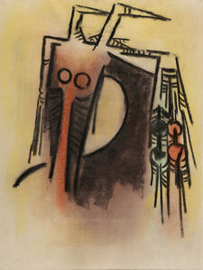 Wifredo Lam, 'Femme Cheval', 1971