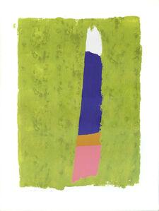 Jack Bush, 'Purple Thrust', 1974