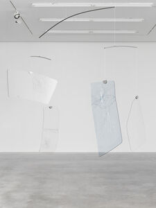 """Cerith Wyn  Evans, '""""phase shifts (after David Tudor)"""" 4 screens', 2020"""