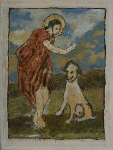 Jean-Pierre Pincemin, 'Saint Roch', 2000