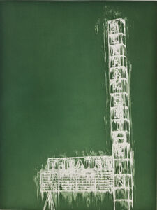 Gary Simmons, 'Bonham Marquee', 2012