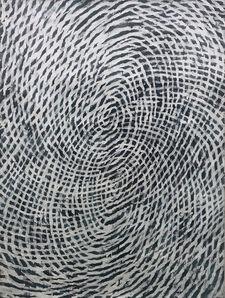 Chong Kim Chiew, 'Overlapping of Blue Circle', 2008