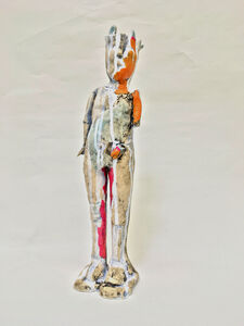 Ashley Benton, 'Ceramic Standing Figure Sculpture: 'Standing Relic'', 2018