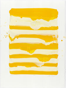 Lynn Basa, 'Yellow and White #2', 2013