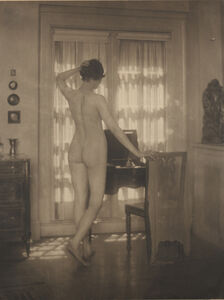 Margaret Watkins, 'Nude at Window, Pearl Regay', 1924