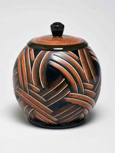 Sèvres Porcelain Manufactory, 'Delachenal Vases (decor - basketry - Richard 97-33 01.2-1)', 1933