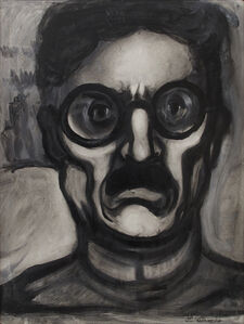 José Clemente Orozco, 'Self portrait', ca. 1940