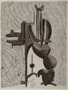 Julio Gonzales, 'Projet de sculpture', 1940
