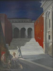 Volker Stelzmann, 'Konservatorenpalast', 1990