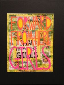 Constance Old, 'forward from here girls #1', 2013
