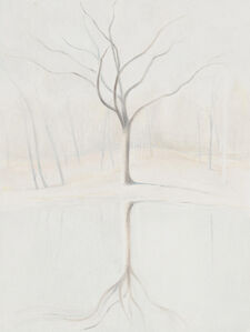 Ron Milewicz, 'Oak and Pond', 2020