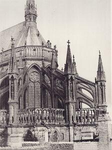 Jean-Louis-Henri Le Secq, 'Reims Cathedrale Notre-Dame', 1852c/1870