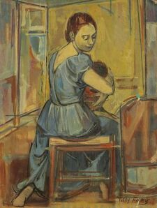 Tully Filmus, 'Mother and Child', 20th Century