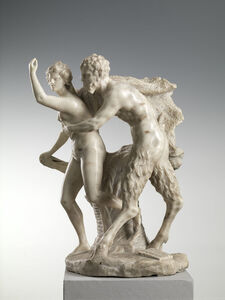 Francesco Bertos, 'Pan and Syrinx', Early 18th Century