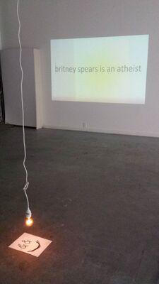 me a talker:  Oscar Figueroa, installation view