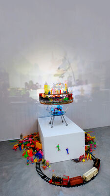 The Lost Time Travel Machine, installation view