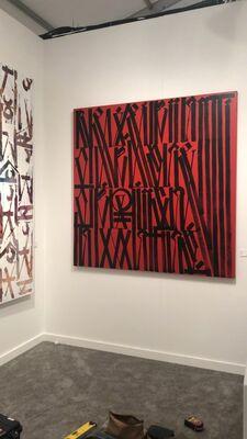 Maddox Gallery at Art Miami 2018, installation view