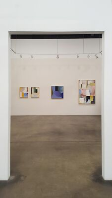 Paintings & Keyholes, installation view
