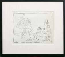 Pablo Picasso, 'DANCES', 1956