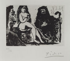 Pablo Picasso, 'Untitled - Number 151 from 347 Series', 1968