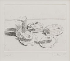 Wayne Thiebaud, 'Lunch', 1964