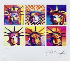 Peter Max, 'Six Liberties', 2003