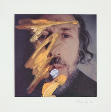 Self-Portrait with Yellow