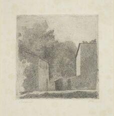 Paesaggio (Chiesanuova), 1924