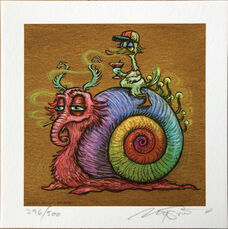 Rainbow Snail - Mini (VS03)