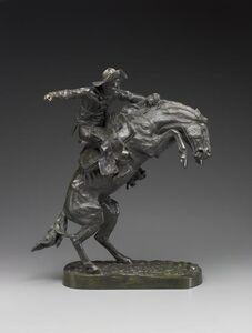 Frederic Remington, 'Bronco Buster', 1898