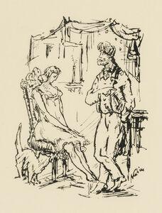 Alfred Kubin, 'Adultress', 1921