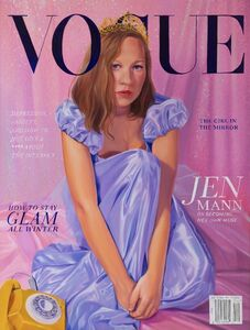 Jen Mann, 'Cover Girl - Vogue', 2019