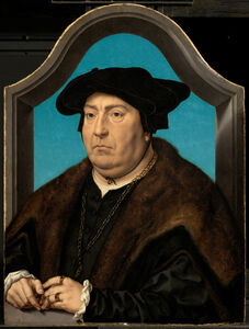Jan Gossaert, 'Portrait of a Man', 1524